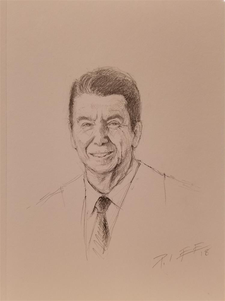 """Ronald"" original fine art by Peter Lee"