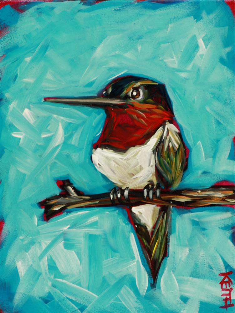 """Turbo"" original fine art by Kandice Keith"