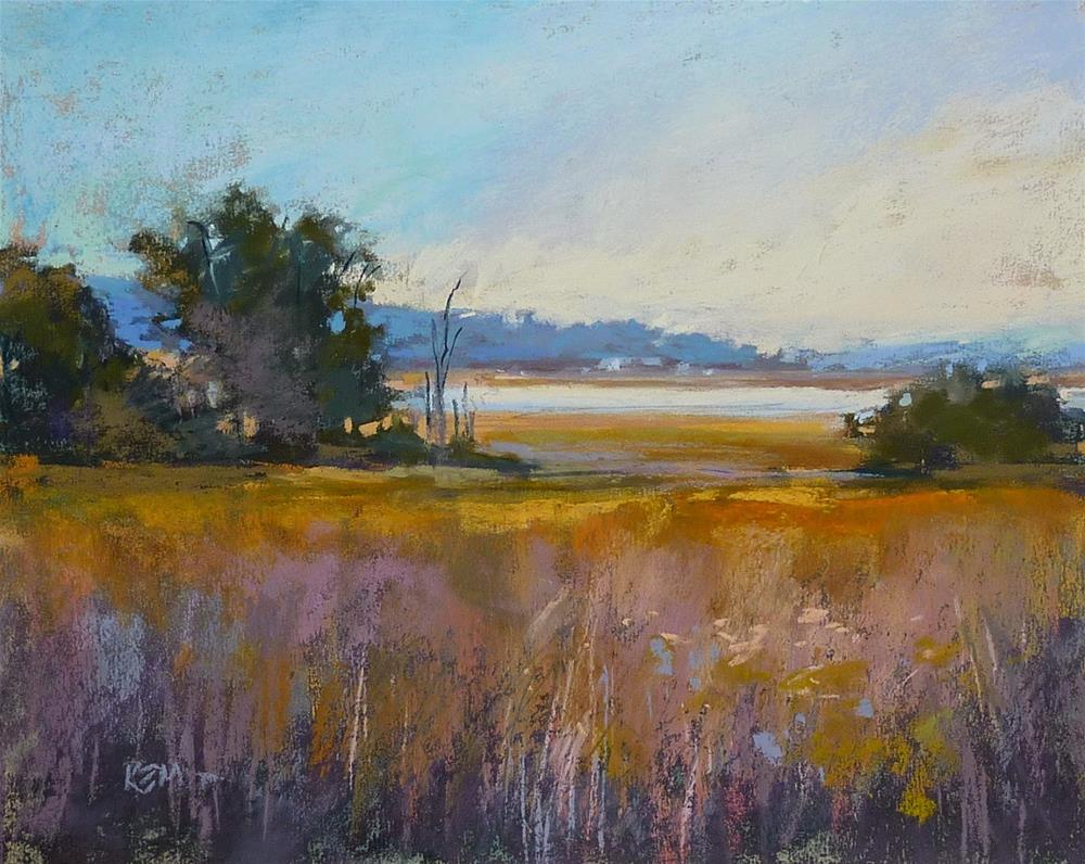 """""""On Seeing Colors....Is Dried Grass Brown?"""" original fine art by Karen Margulis"""