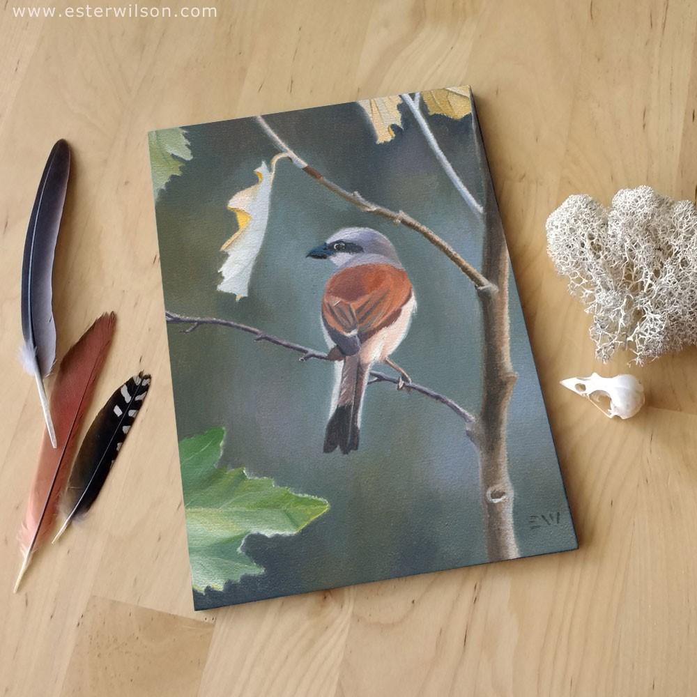 """""""Autumn Song"""" original fine art by Ester Wilson"""