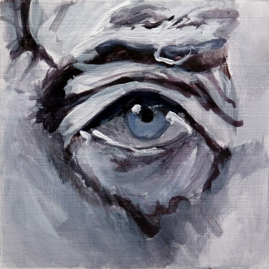 """""""1819 Eye Sight 4"""" original fine art by Dietmar Stiller"""