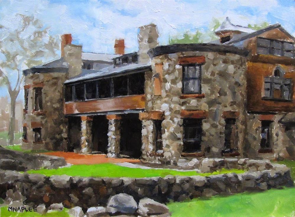 """Stonehurst"" original fine art by Michael Naples"