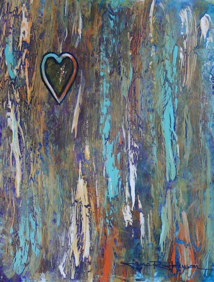 """Captured Heart"" original fine art by Jana Johnson"