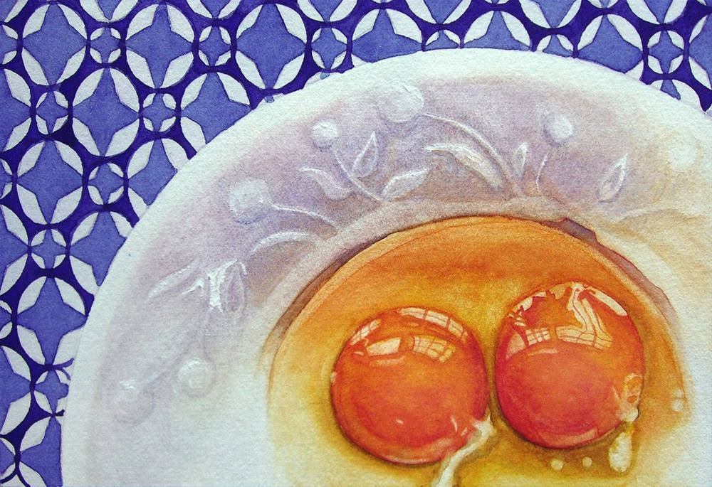 """Before the Scramble"" original fine art by Kara K. Bigda"