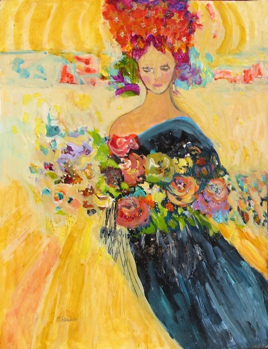 """Diadem 12088"" original fine art by Nancy Standlee"