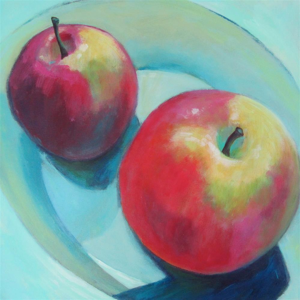 """Post Modern Apps III"" original fine art by Patricia MacDonald"
