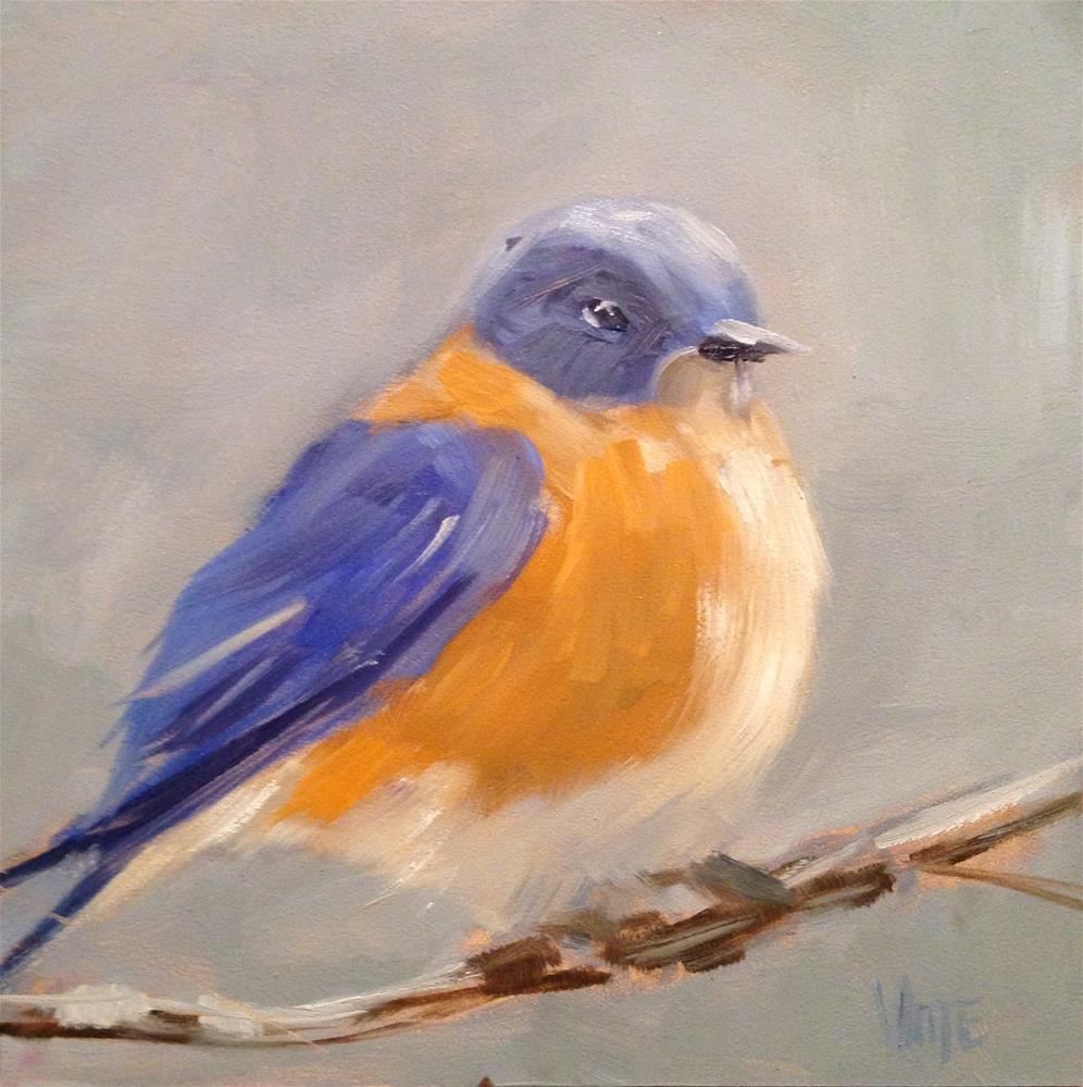 """#39 Chillin'"" original fine art by Patty Voje"