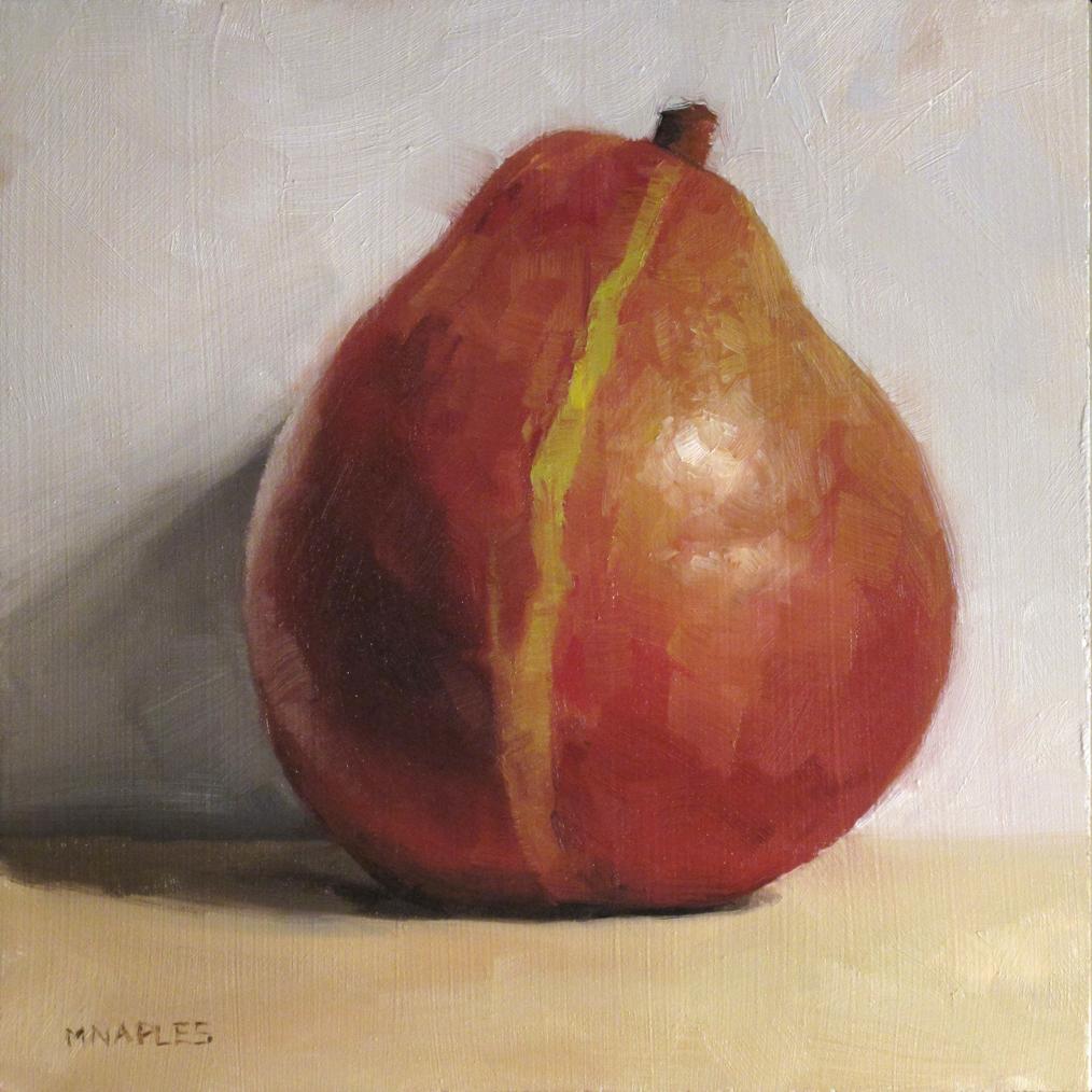 """Green Stripe"" original fine art by Michael Naples"
