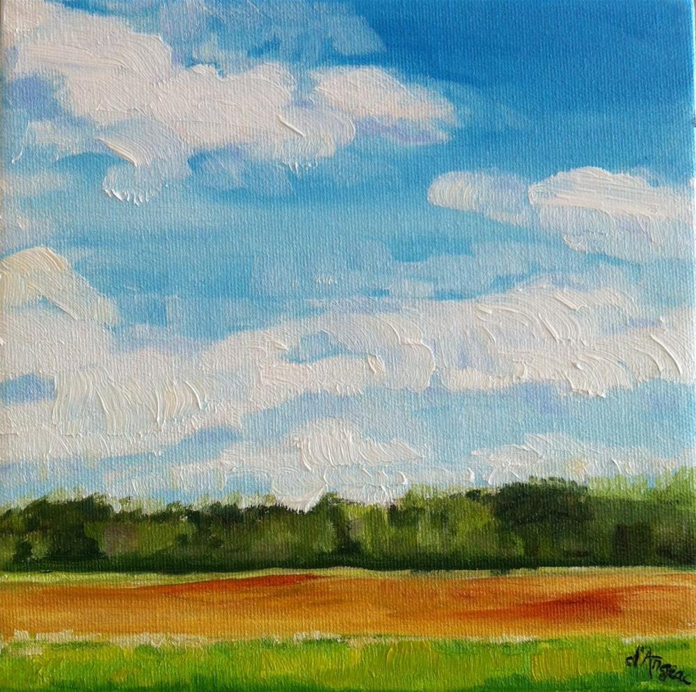 """A Spring Afternoon"" original fine art by Karen D'angeac Mihm"