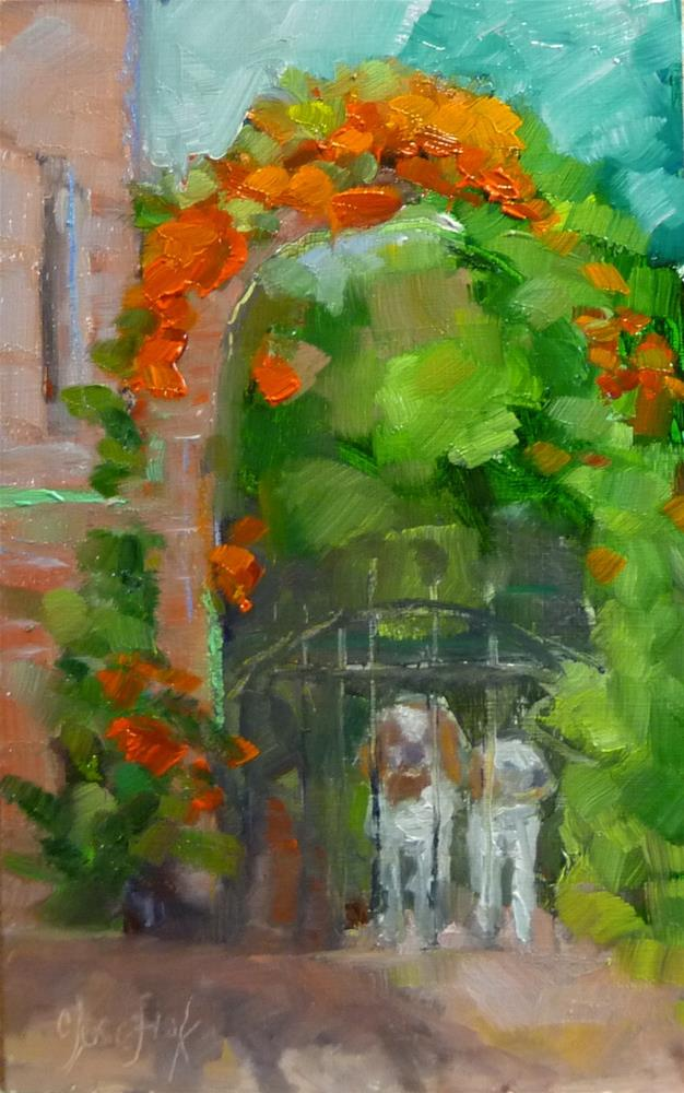 """Up Close"" original fine art by Carol Josefiak"