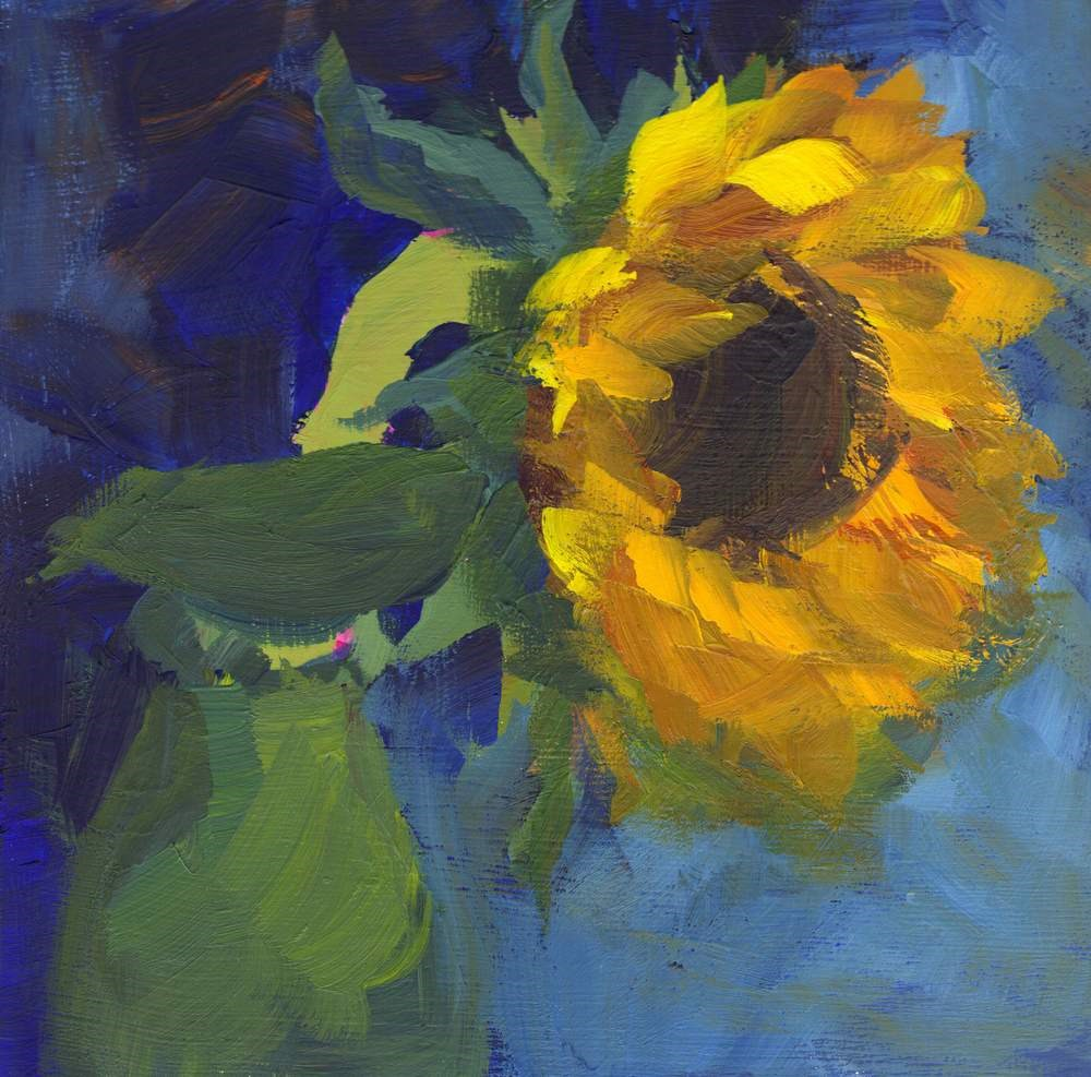 """""""In All Your Glory"""" original fine art by Meredith Adler"""
