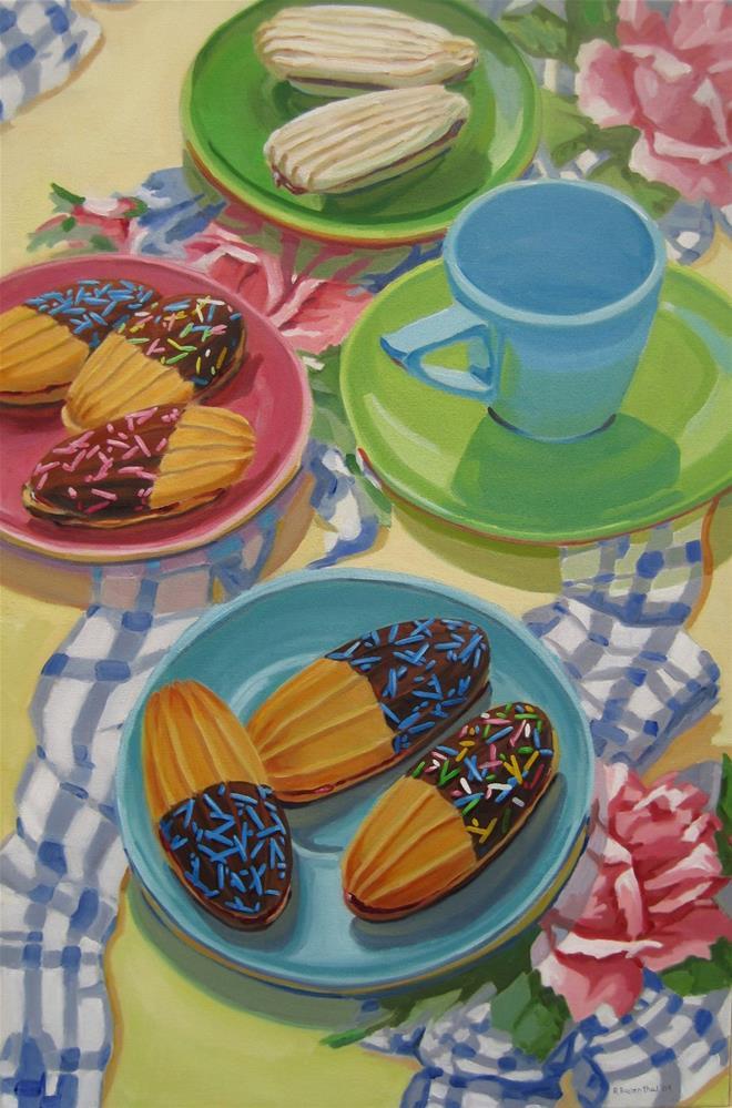 """Jelly Bar Cookies Giclee Print"" original fine art by Robin Rosenthal"