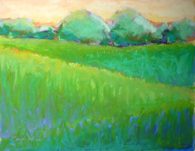 """Daybreak"" original fine art by Sandi Miller"