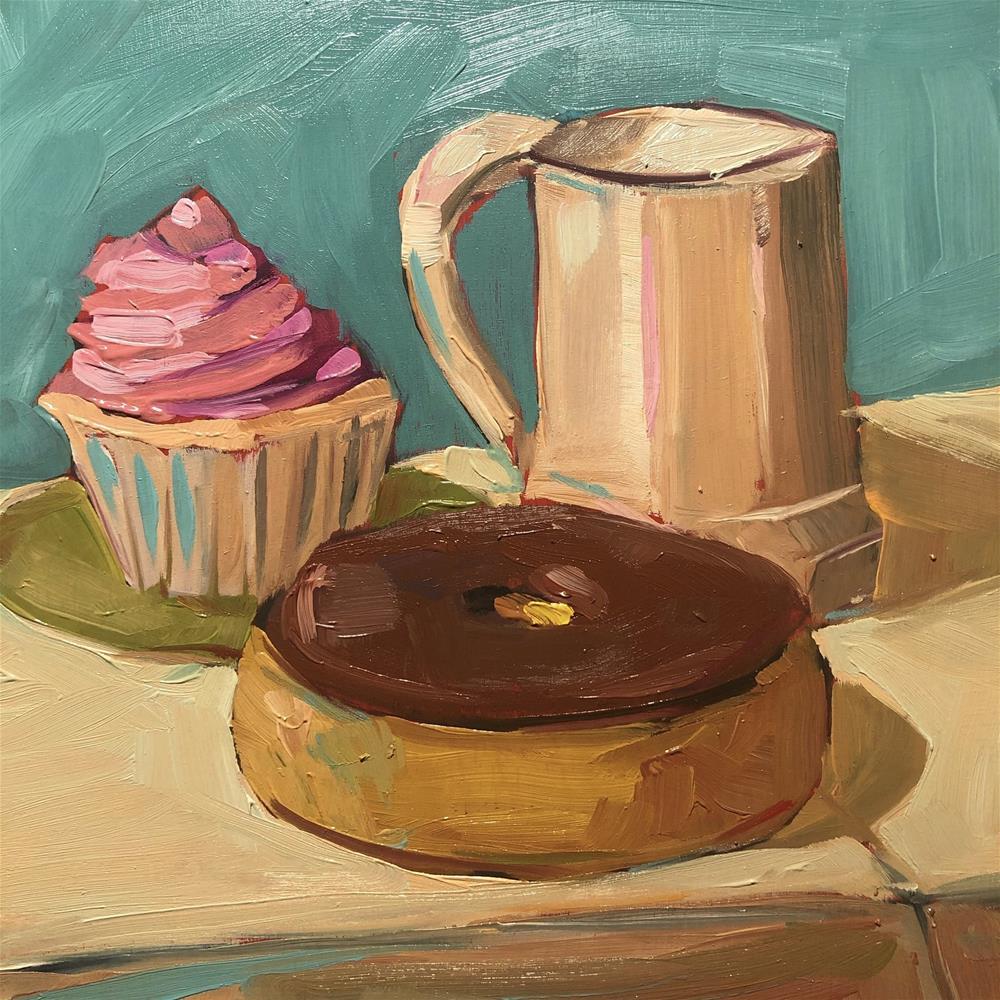 """1278: Breakfast of Champions"" original fine art by Brian Miller"