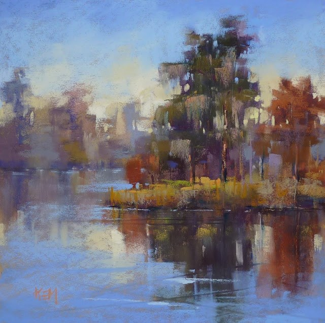 """Paint with Me in Chicago...and Learn about Underpaintings"" original fine art by Karen Margulis"