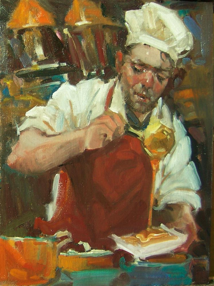 """It's All Gravy"" original fine art by Kim Roberti"