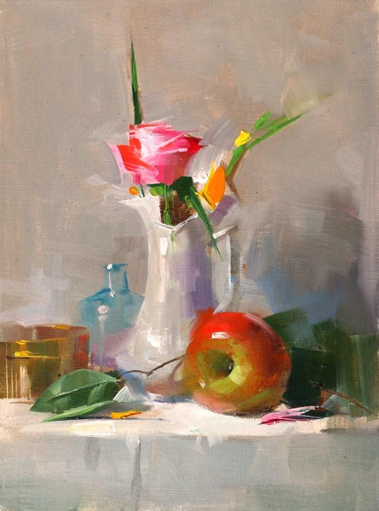 """Bright Texas Light"" original fine art by Qiang Huang"