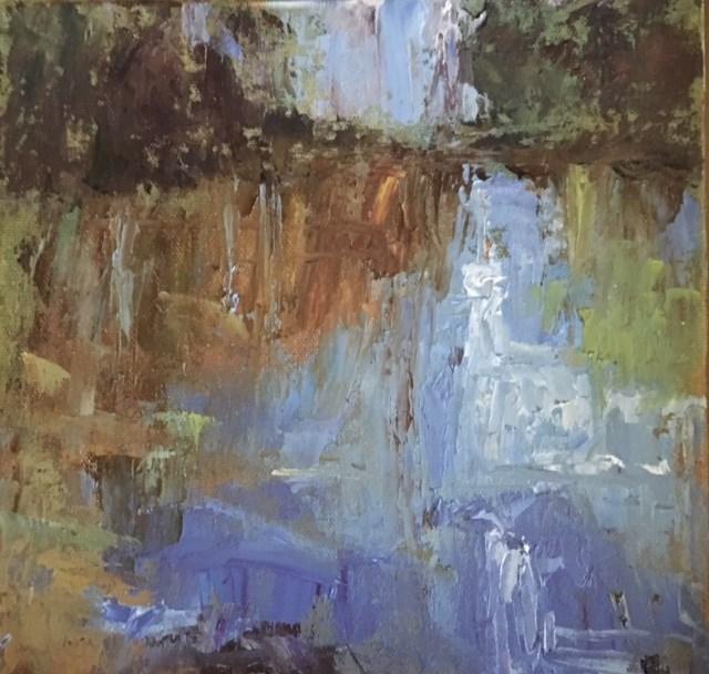 """Little Creek"" original fine art by Victoria  Biedron"