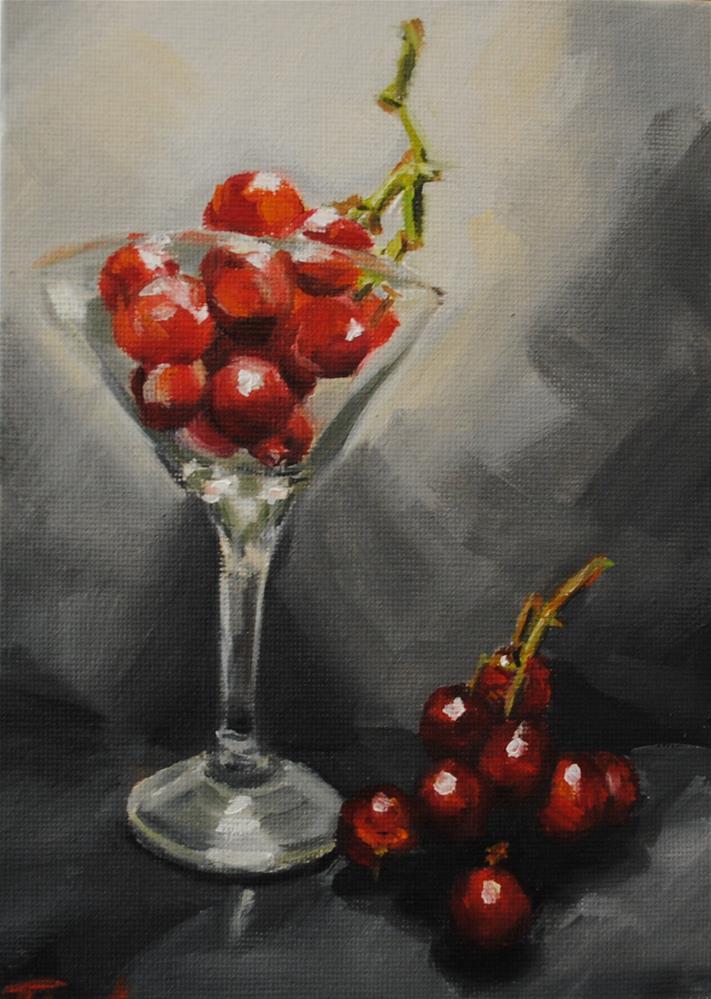 """Grape Martini"" original fine art by Tamanda Elia"