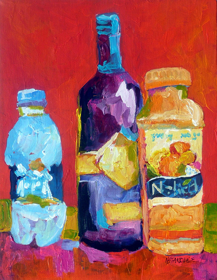 """Naked Juice 11017"" original fine art by Nancy Standlee"