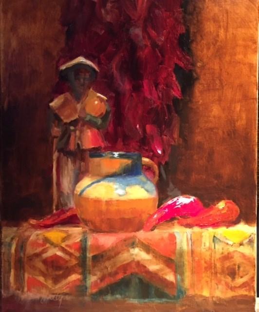 """Down Mexico Way"" original fine art by Barbara Fluty"