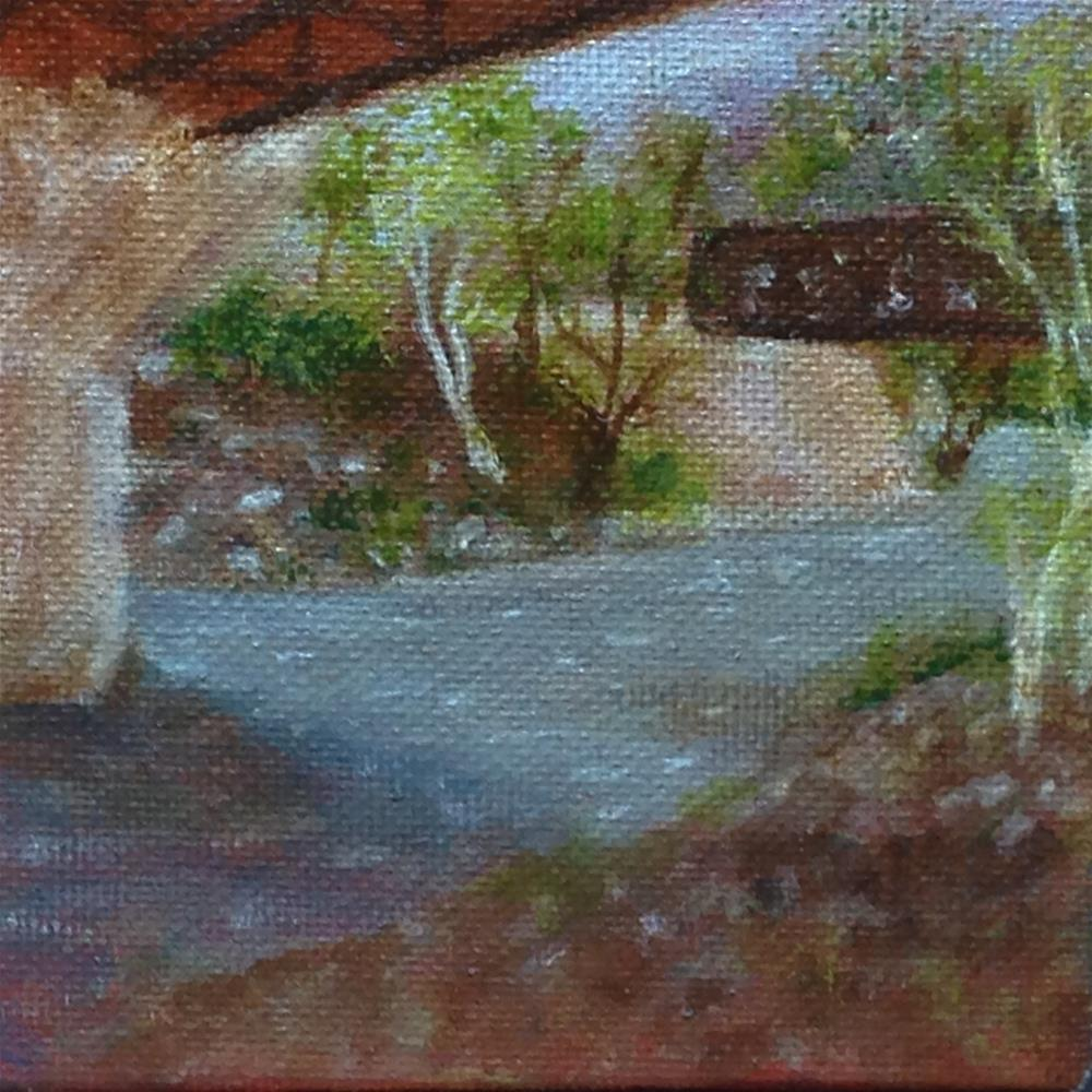 """Life's Highways"" original fine art by Joy McMicken"