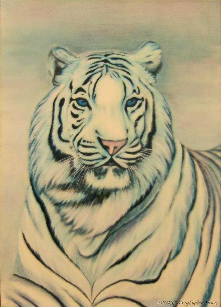 """""""Pastel Beauty 1"""" original fine art by Mary Sylvia Hines"""