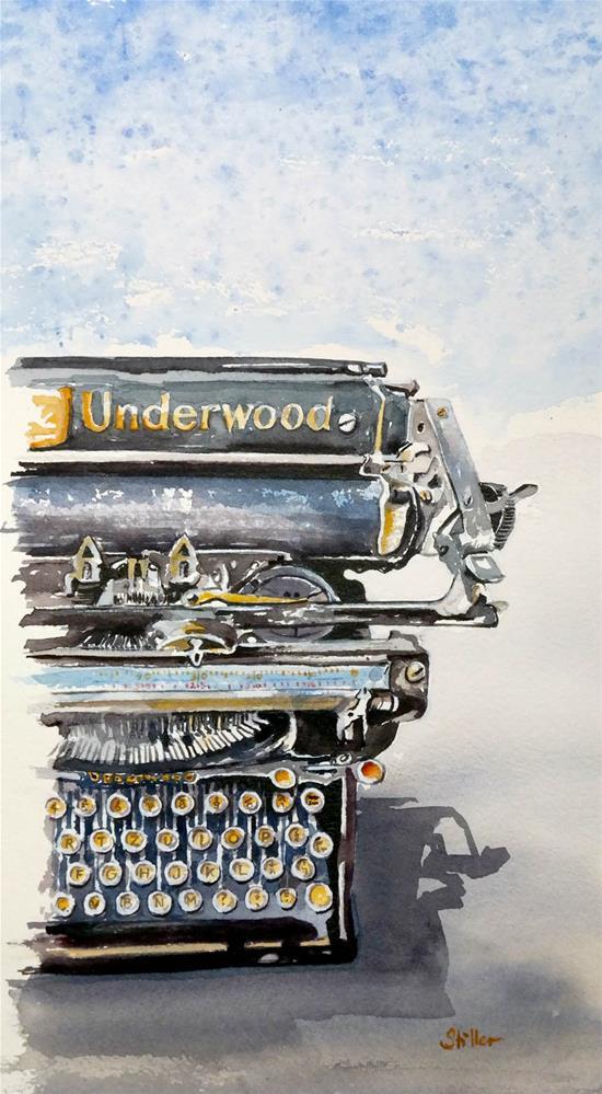 """""""2332 Underwood"""" original fine art by Dietmar Stiller"""