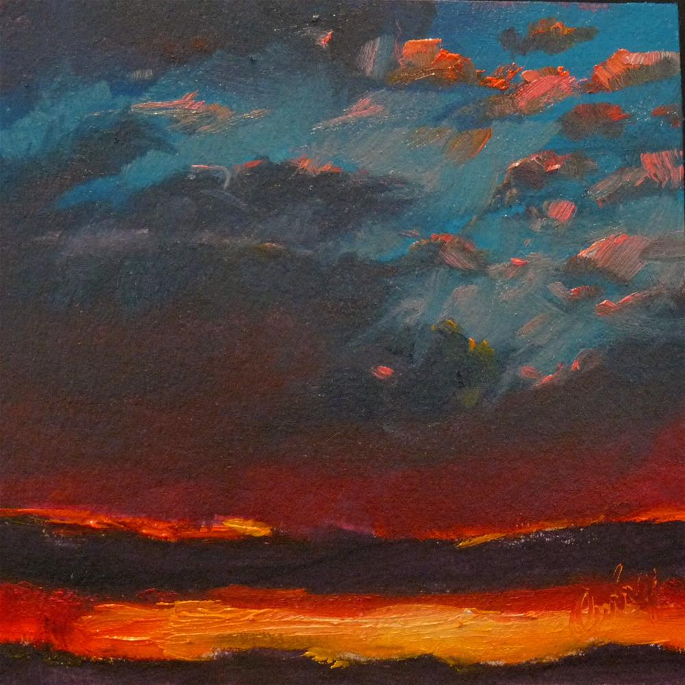 """Sky16"" original fine art by Sharman Owings"