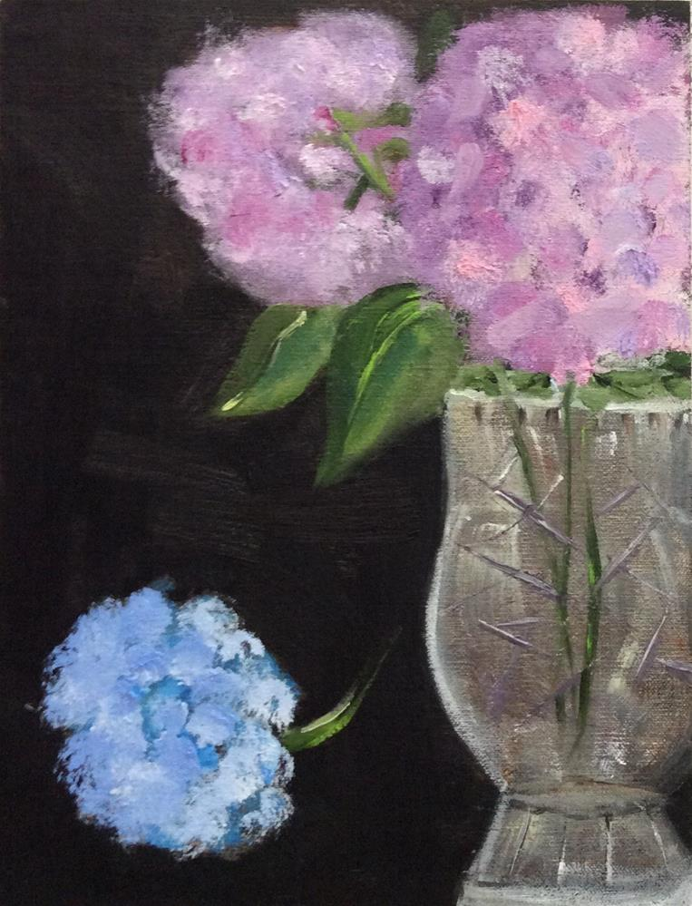 """Grandma's Vase"" original fine art by Patty Barnes"