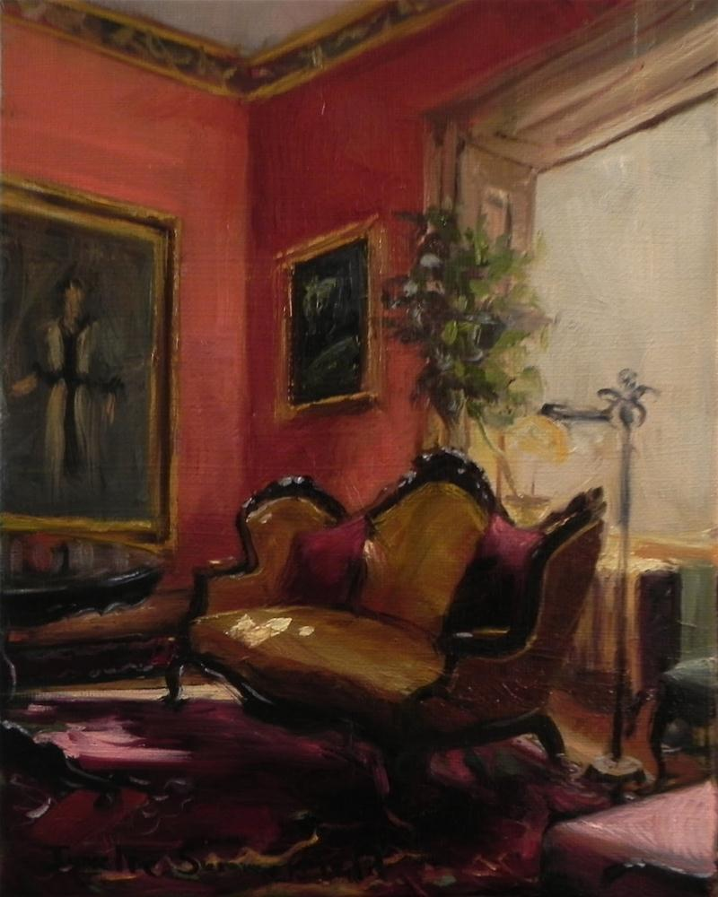 """Drawing Room III"" original fine art by Jonelle Summerfield"