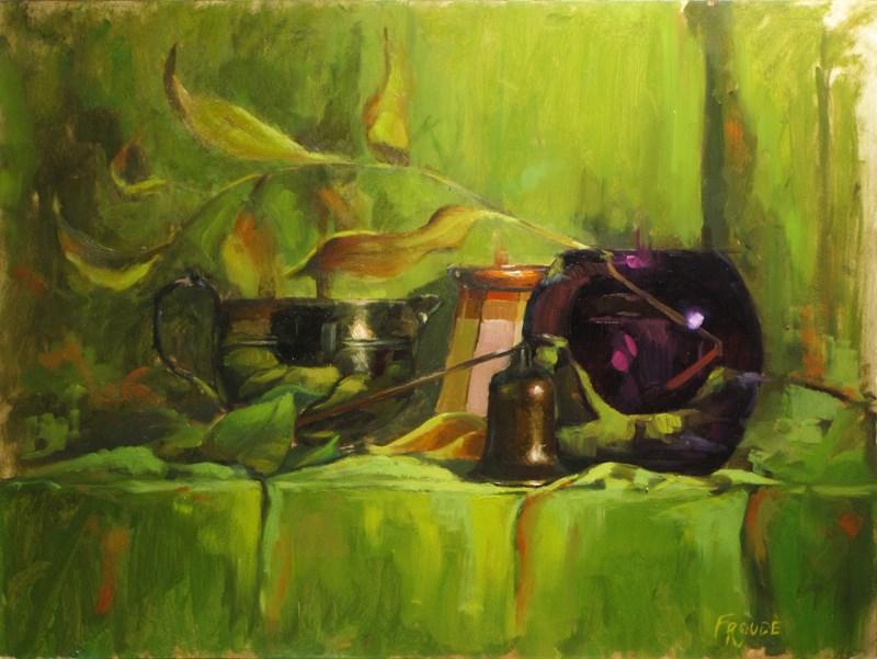 """extinguisher"" original fine art by Dave Froude"