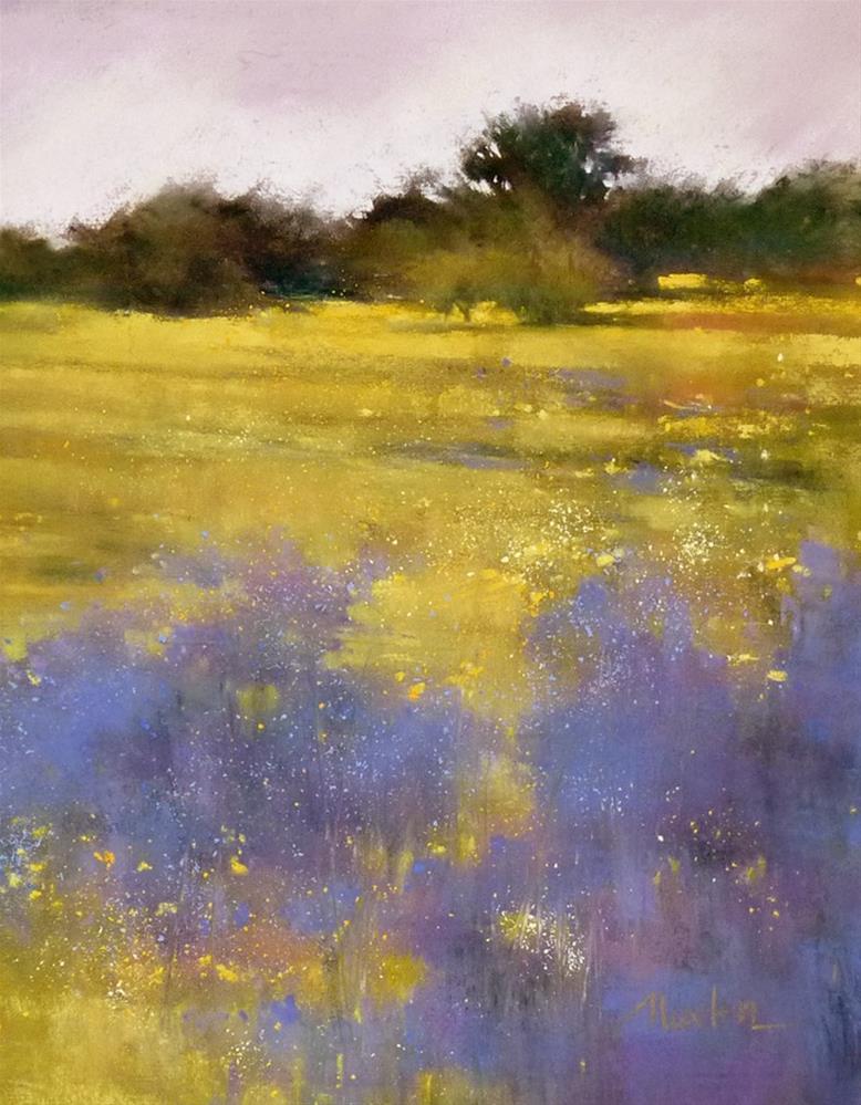 """Summer's End II"" original fine art by Barbara Benedetti Newton"