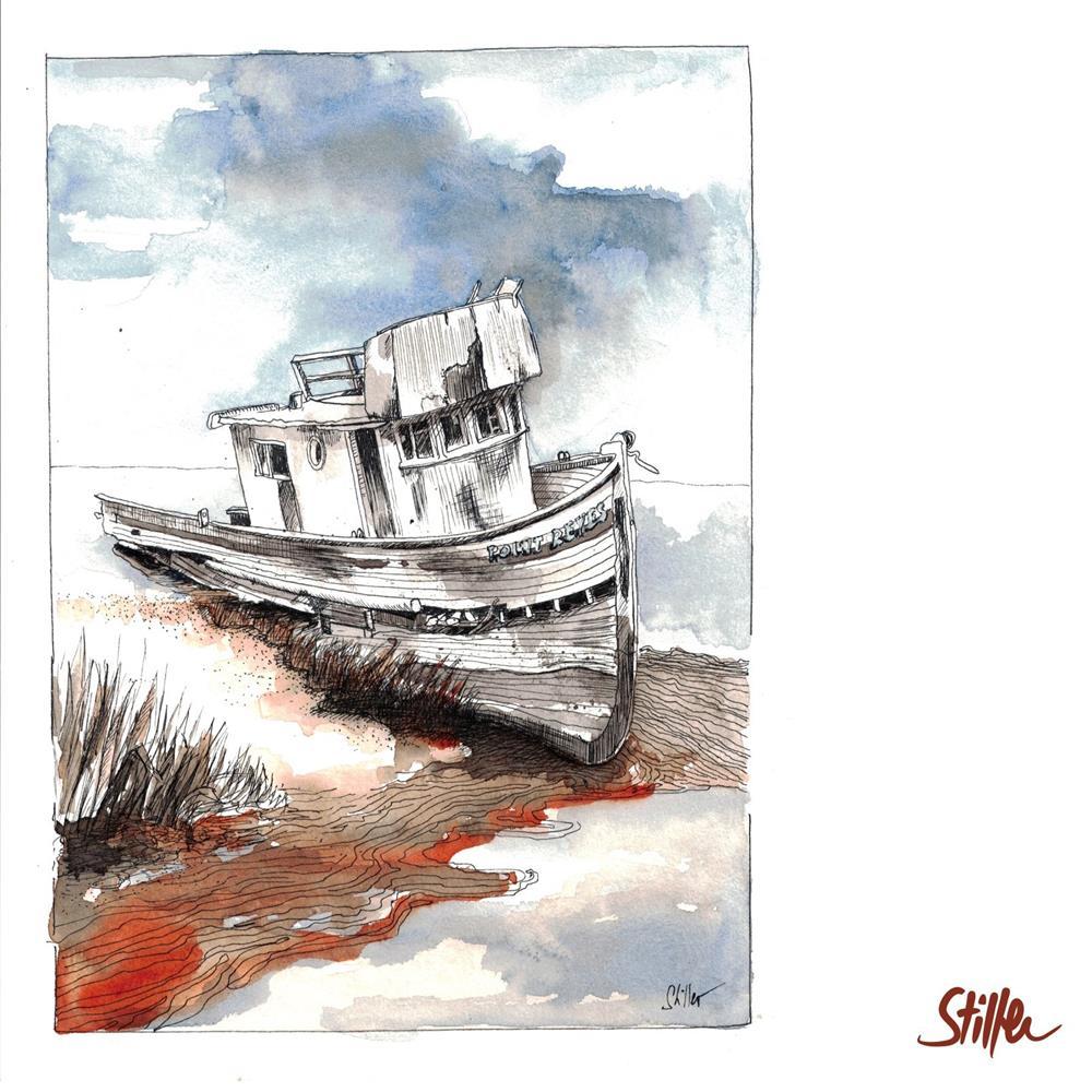 """""""3462 Ship Wreck (Four)"""" original fine art by Dietmar Stiller"""