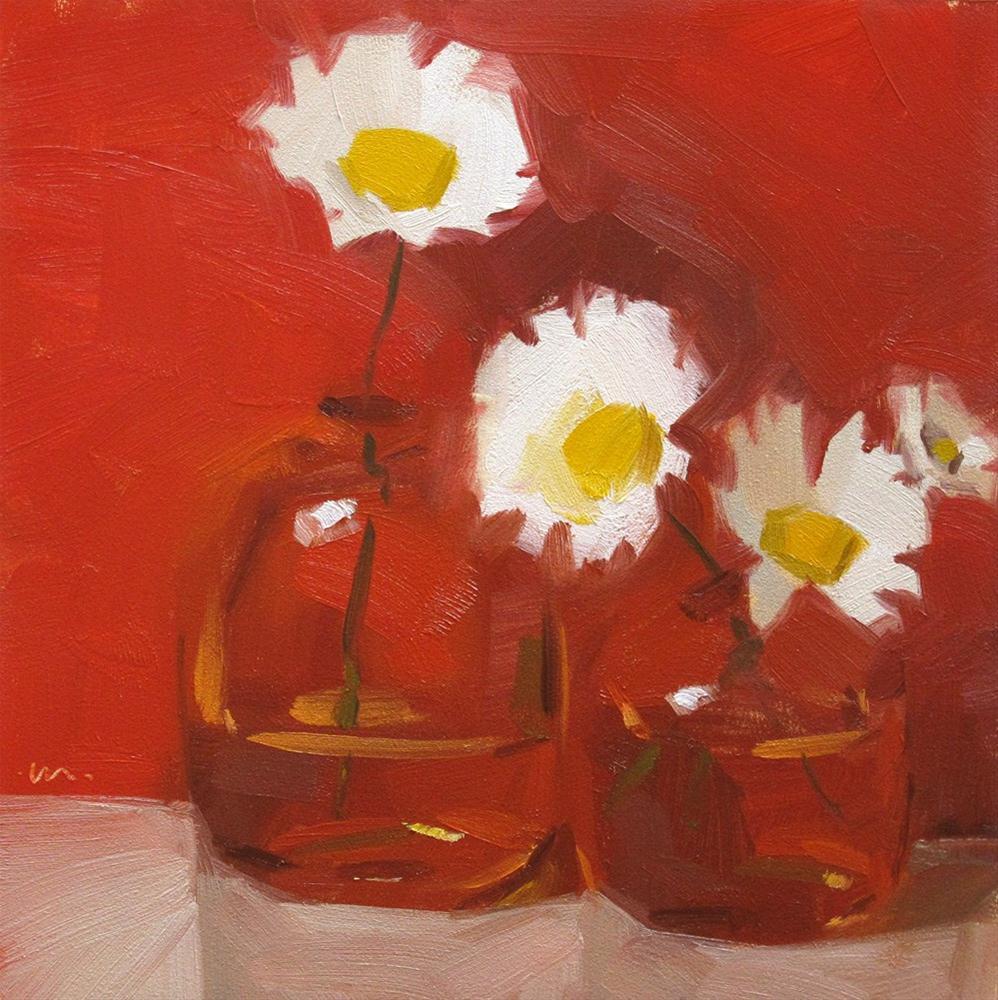"""""""Cool By Association"""" original fine art by Carol Marine"""