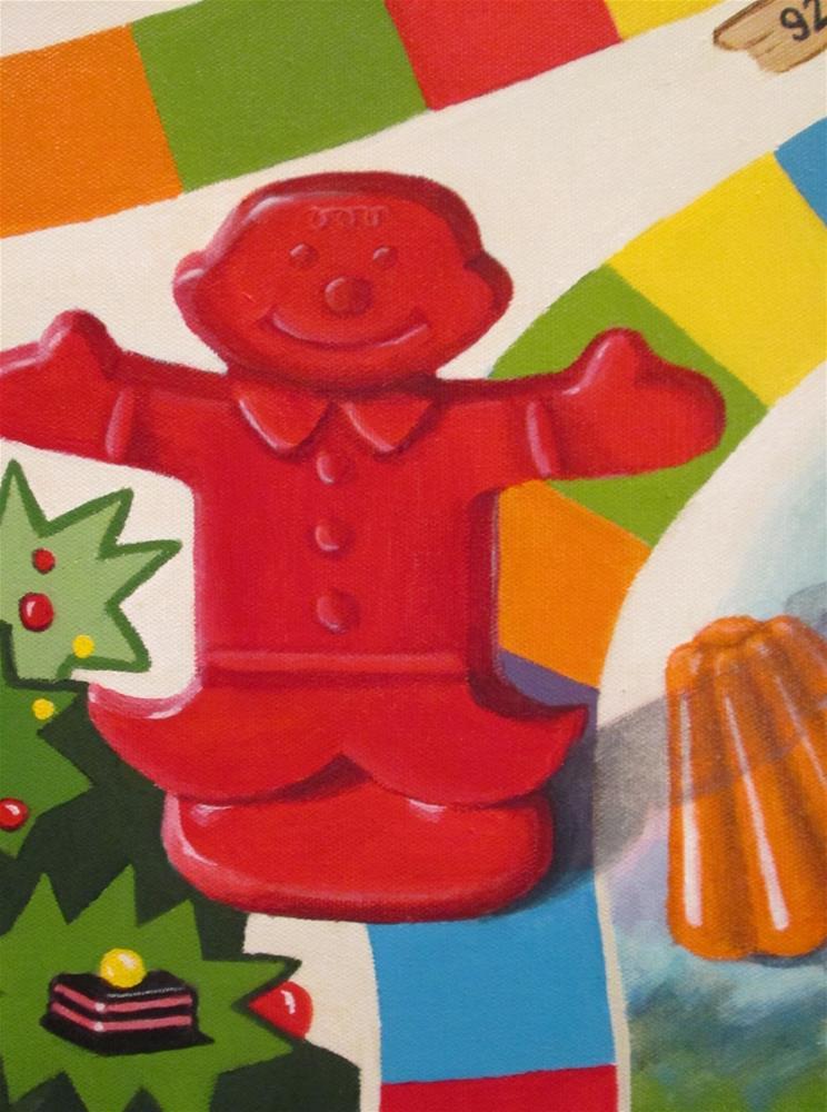 """Sweet Escape"" original fine art by Debbie Shirley"