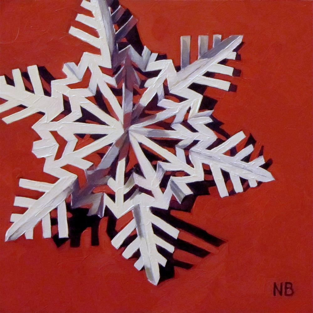 """Fake Snow"" original fine art by Nora Bergman"