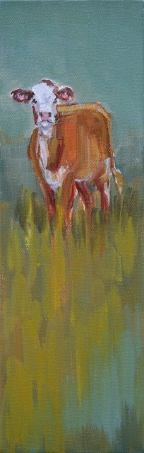 """Loner"" original fine art by Carol Carmichael"