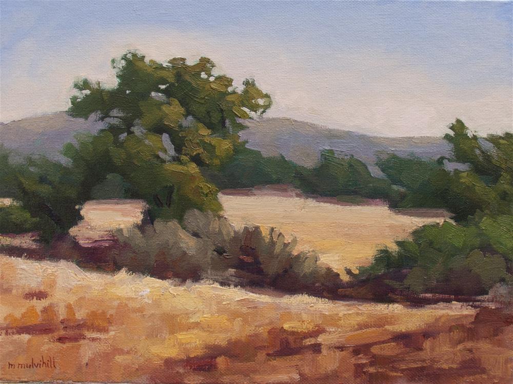 """""""Winter Oaks at Sylvan Meadows"""" original fine art by Mary Mulvihill"""