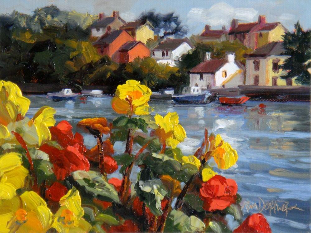 """Kinsale Bay"" original fine art by Erin Dertner"