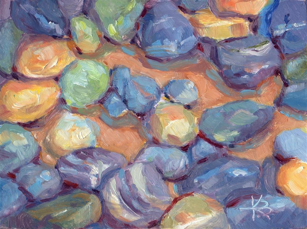 """Tumbled"" original fine art by Kathy Bodamer"