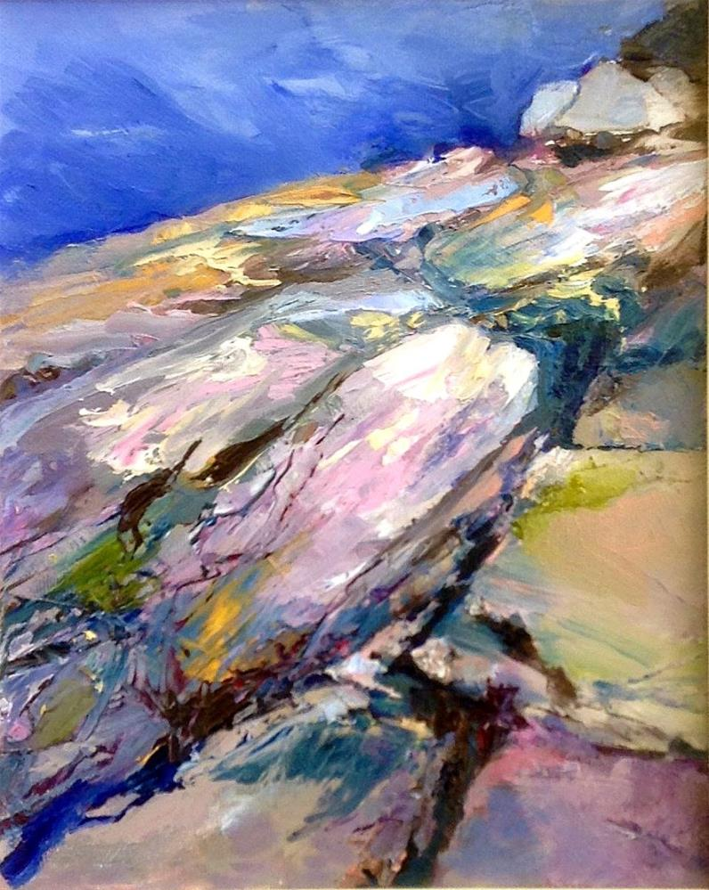 """""""Rock Patterns"""" original fine art by Cathy Boyd"""