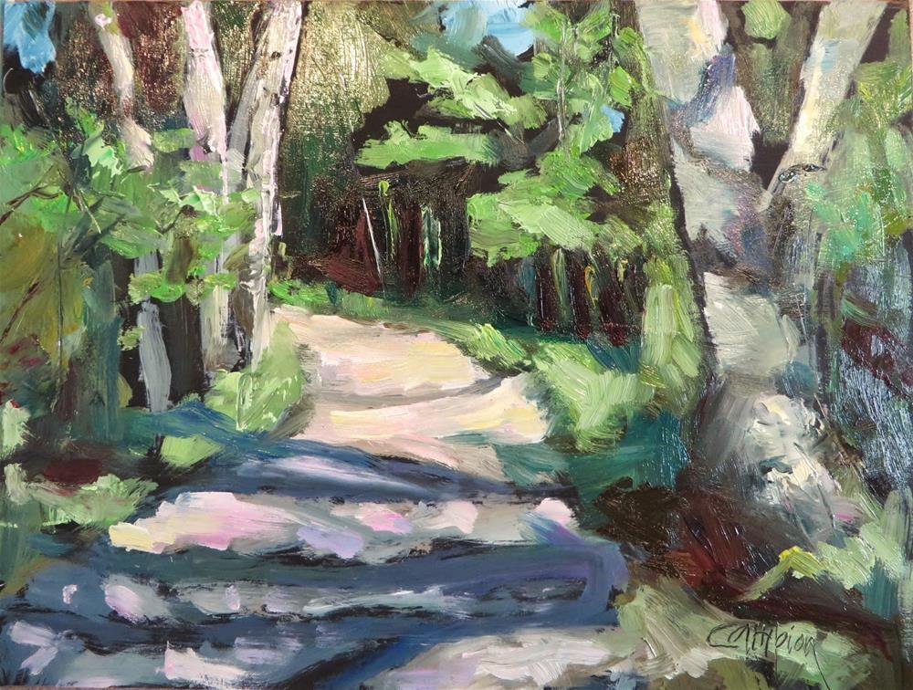 """621 Sunset Trail"" original fine art by Diane Campion"