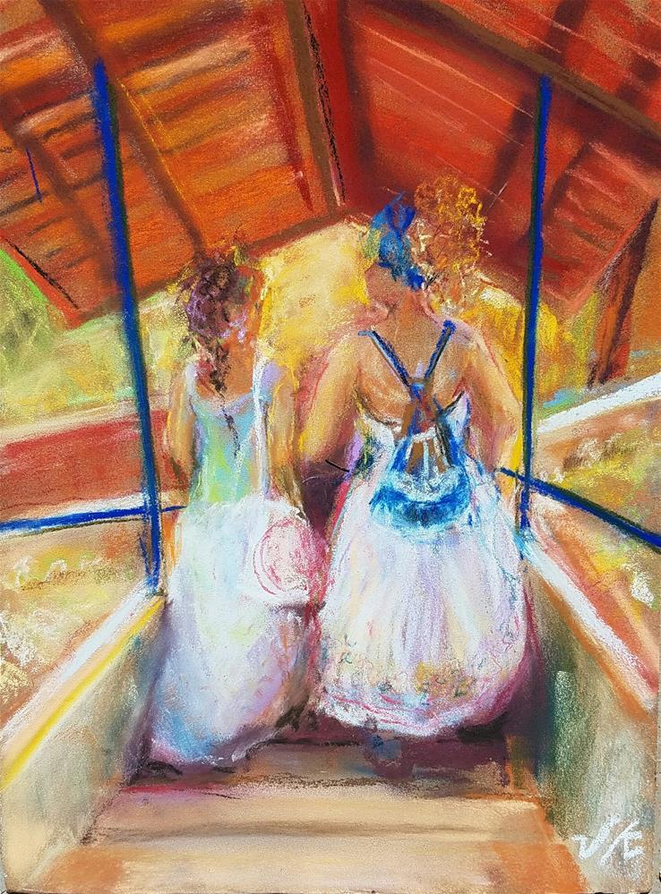 """""""Mulheres doTrópico de Capricorn"""" original fine art by Jean Krueger"""