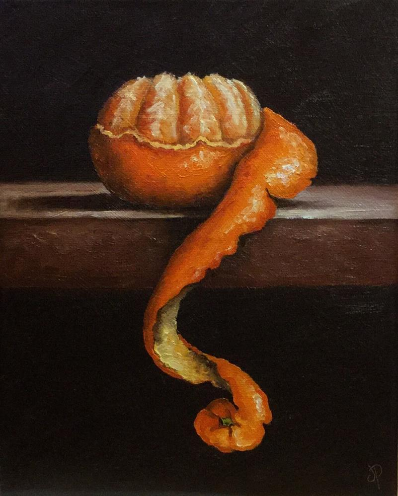 """Peeled Clem"" original fine art by Jane Palmer"
