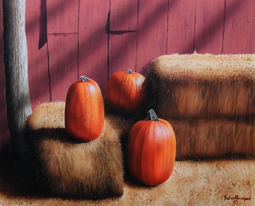 """First Day of Autumn"" original fine art by Fred Schollmeyer"