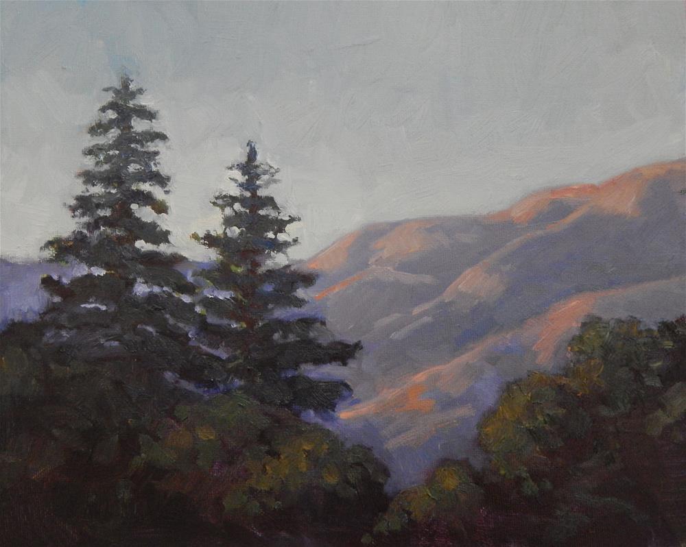 """A Borrowed View"" original fine art by Lisa Kyle"