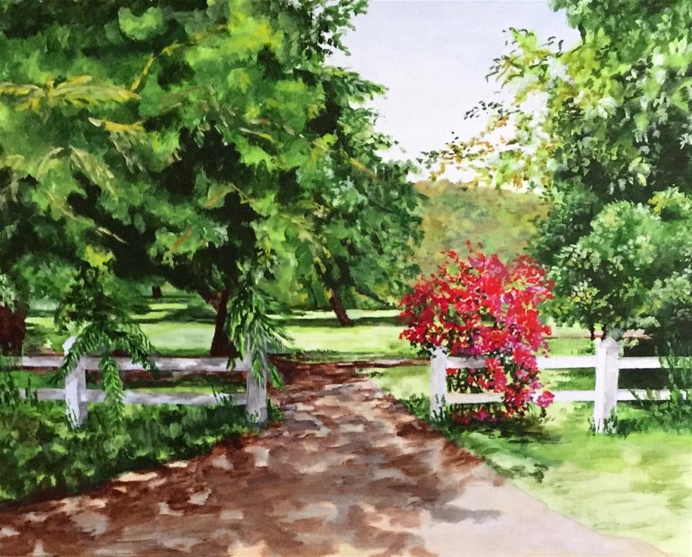 """LaGrange Road"" original fine art by Nan Johnson"