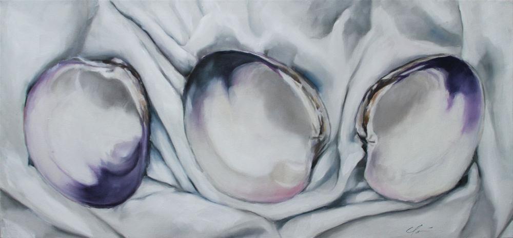"""""""Three Tides"""" original fine art by Clair Hartmann"""