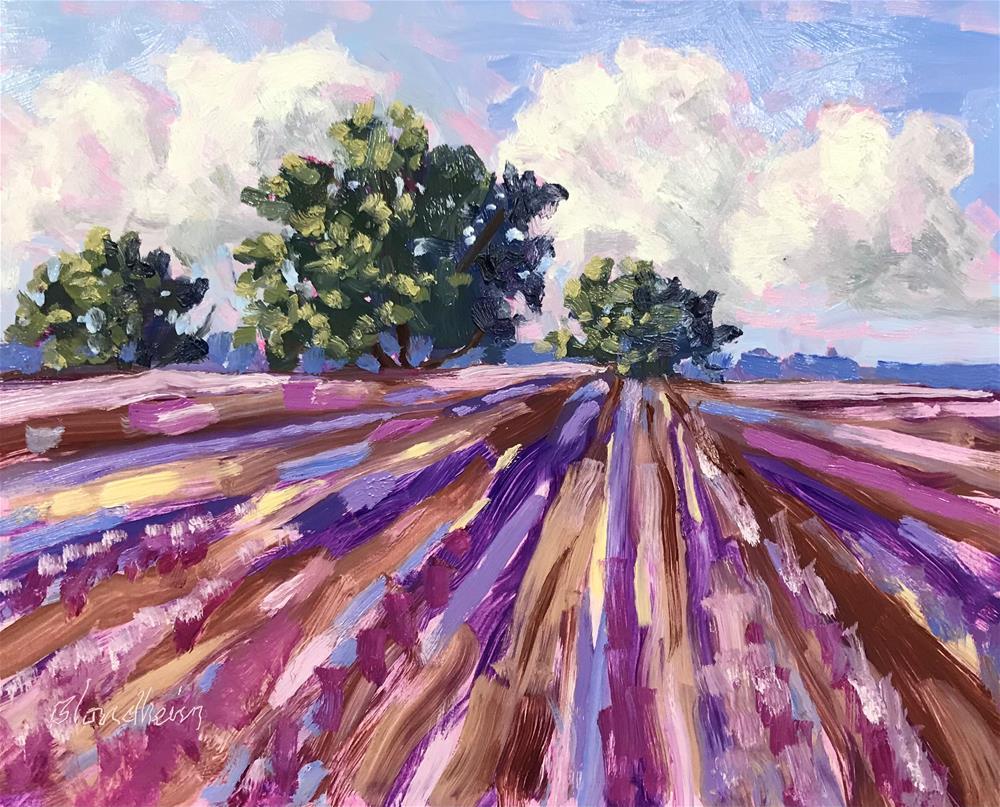 """Fallow Field"" original fine art by Linda Blondheim"
